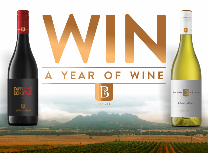 Slip into Spring this year with beautifully crafted wines from #BolandCellar and stand a chance to #WinAYearOfWine at the selected participating retail outlets. Check it out 120 bottles it is!