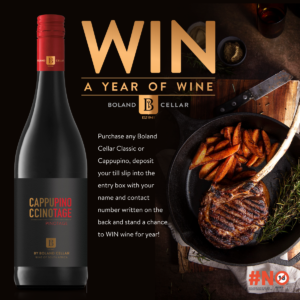 Win A Year Of Wine with Boland Cellar